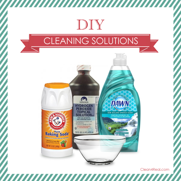 Diy Cleaning Solution With Hydrogen Peroxide Dawn And Soda